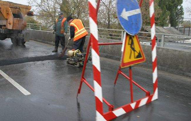 Ремонт дорог в Киеве