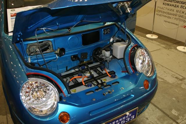 недорогой электромобиль на SIA 2013