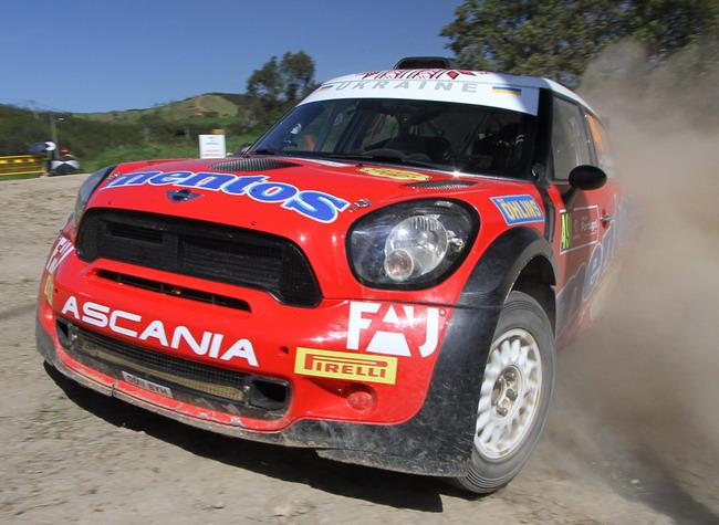 Украинцы в WRC: Acropolis Rally 2013