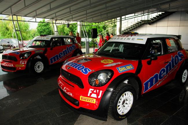 MINI Cooper RRC для Mentos Ascania Racing