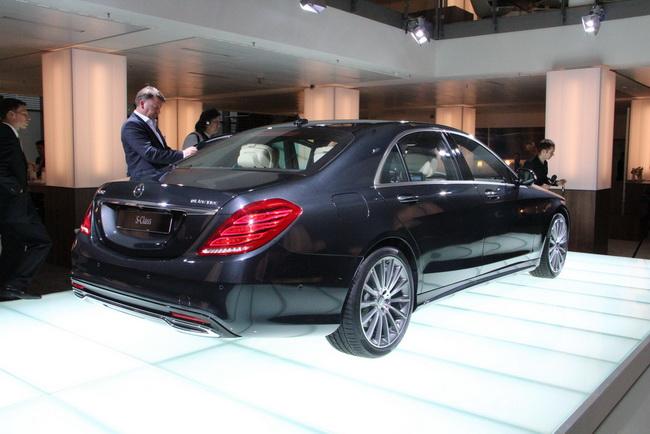 Новое поколение Mercedes-Benz S-Class