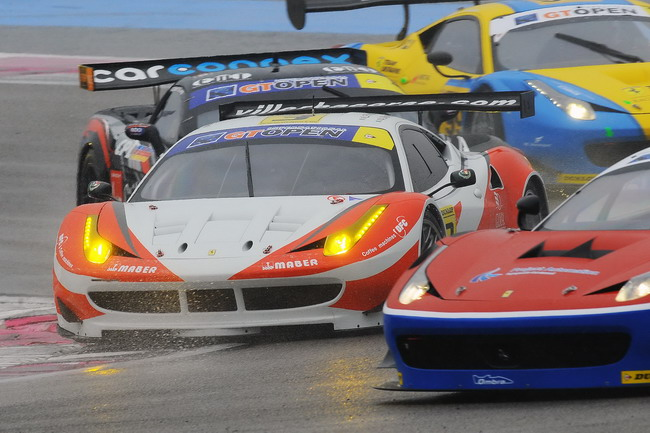 Трудный старт для Team Ukraine racing with Ferrari