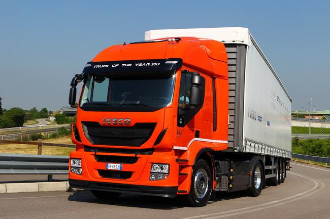 Iveco Stralis с двигателем на газе