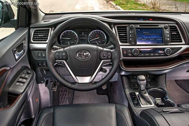Тест-драйв Toyota Highlander