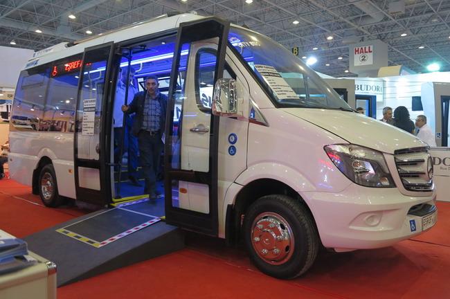 Люксовые автобусы на выставке Busworld Turkey 2014