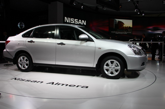 Nissan Almera в Украине