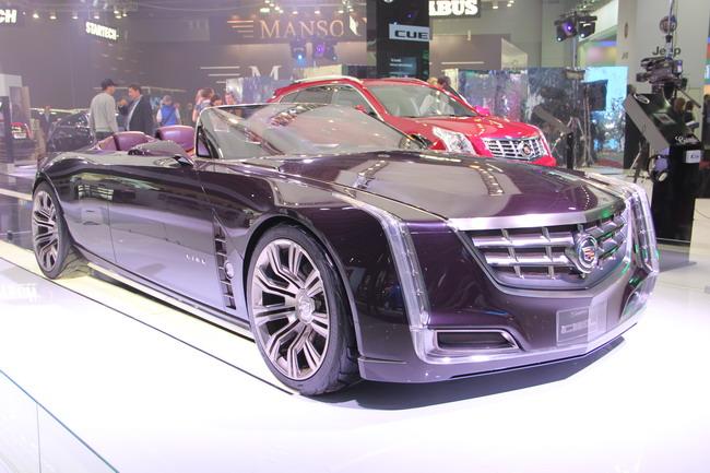 презентация Cadillac в Москве