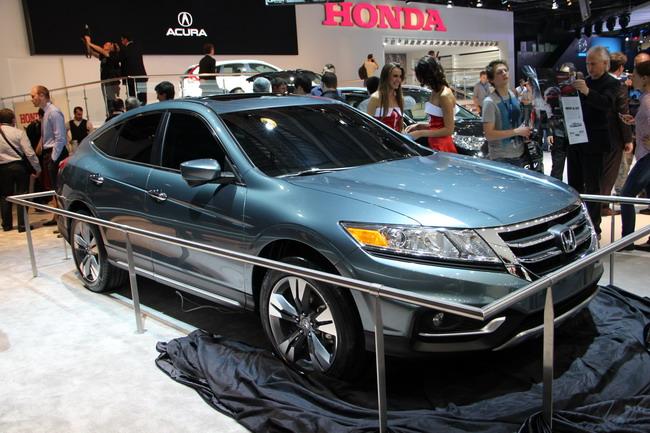 новинки Honda на ММАС-2012
