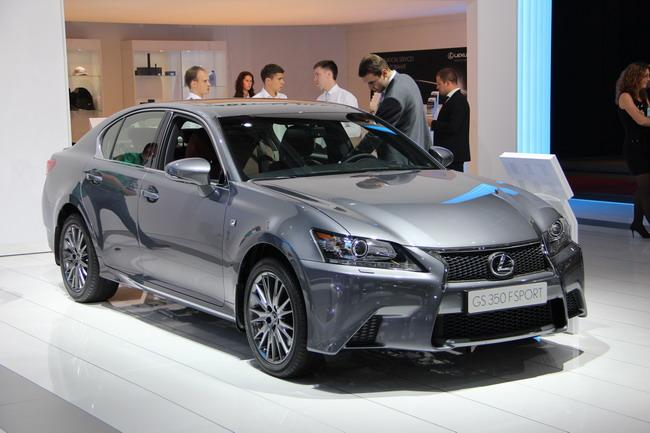 Новые Lexus LS и Lexus ES
