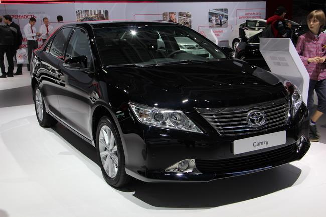 новые модели Toyota в Москве