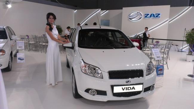 новые модели ЗАЗ на Московском автошоу 2012