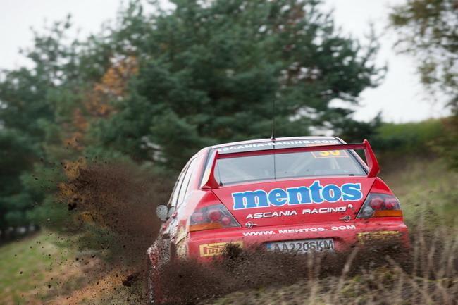 Александр Салюк на WRC