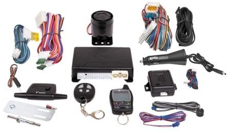 Комплект сигнализации состоит из более чем полутора десятков позиций