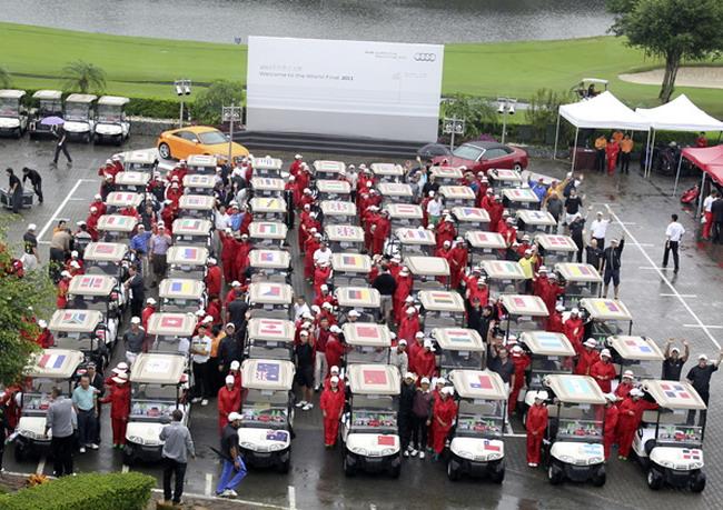 Украинские гольфисты - серебряные призеры Audi quattro Cup 2011!
