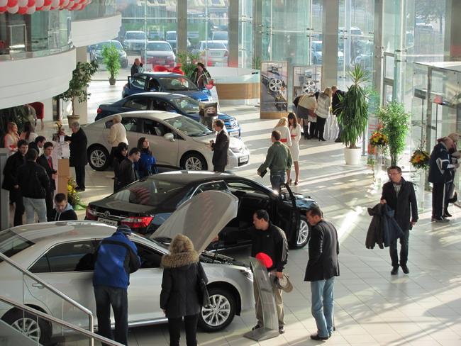 Тойота Центр Киев «Автосамит»: дни открытых дверей прошли успешно