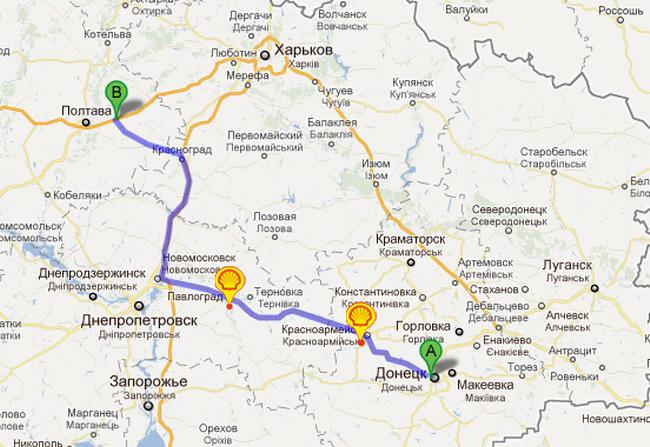 Евро-2012: «Автоцентр» и Hyundai Tucson начинают разведку дороги из Киева к «Донбасс-Арене»