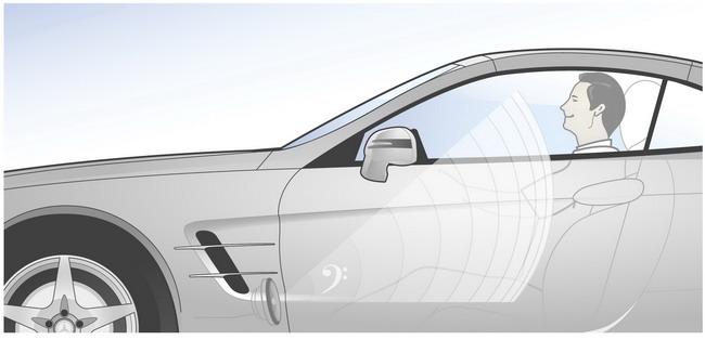Mercedes-Benz SL Roadster. Система FrontBass