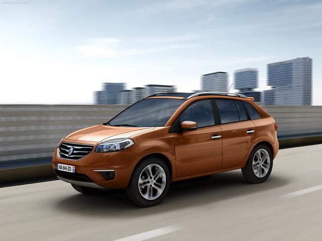 Новый Renault Koleos можно купить уже и в Украине