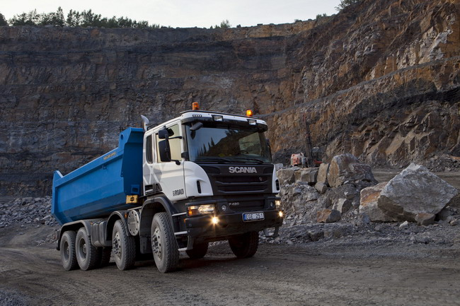 Scania, новые грузовики Р и G-серий