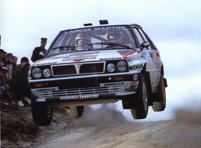 Два года подряд на Ралли Португалии в 1989-и и 1990-м годах пилотам Lancia не было равных - оба раза по 7 итальянских машин в топ-10!