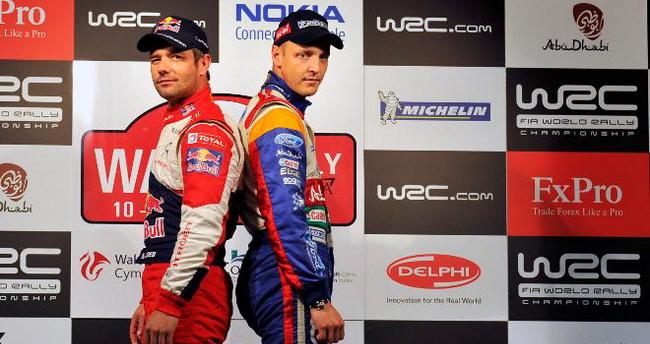 Снова, как и два года назад на титул пртендовала таже пара пилотов, и снова судьбу титула решило Ралли Уэльса и победителем вновь вышел француз!