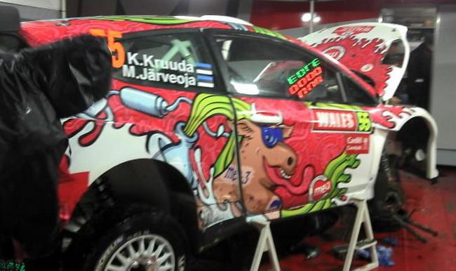 Получая как можно больше опыта, юнный эстонец Карл Крууда, выступавший неделю назад на Кипре в последнем этапе IRC, пересел со Skoda на Ford