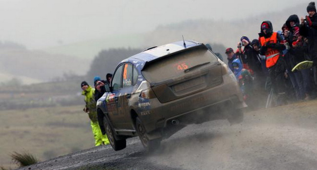 С шестью стартами и одной победой в зачете P-WRC в 2008-м году Патрик Флодин является настоящим специалистом по Ралли Уэльса