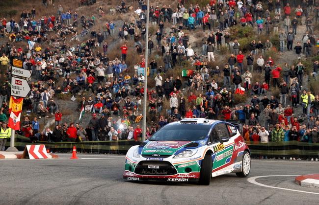 """На Ралли Испании-2011 """"спущенный с поводка"""" в попытке оказать давление на Лоэба, Латвалла провел свою лучшую в жизни гонку на асфальте!"""