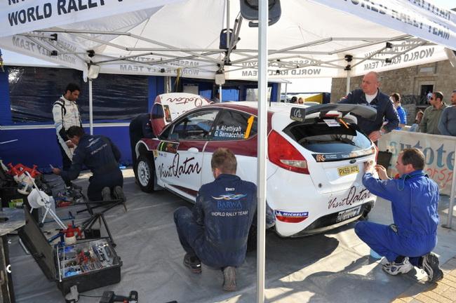 Из-за третьего за год отказа двигателя Ford Fiesta S2000 Аль-Аттиях впервые за 10 лет не закончил гонку на Кипре и не смог побороться на Golden Stage Rally
