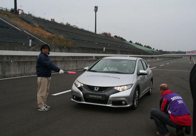 Автоцентр протестировал новейшие модели Honda