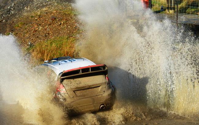 Похоже, что настоящей положительной сенсацией Ралли Уэльса станет первое выступление на автомобиле WRC молодого эстонца Отт Танака