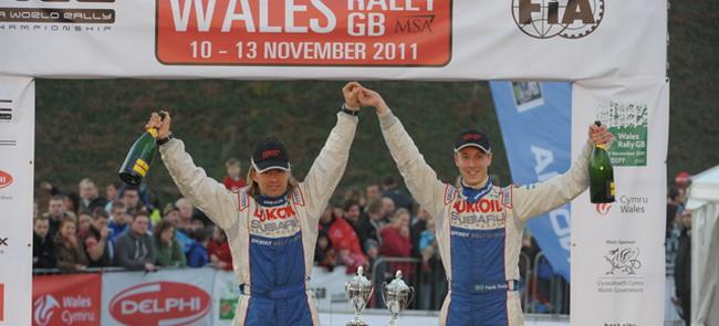 Несмотря на нового штурмана, к тому же финна, Флодин более чем уверенно выиграл в Ралии Уэльса, опередив ближайшего по Р-WRC почти на 6 минут!