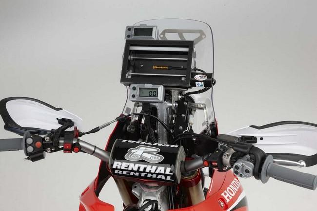 Эндуро Honda CRF450 Rally пройдет ралли-рейды Дакар