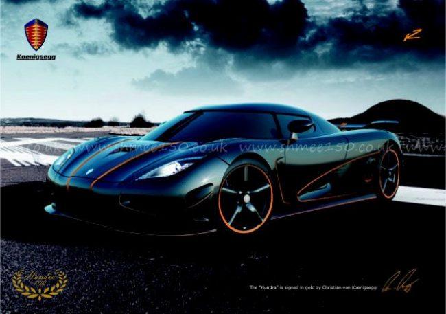Сотый суперкар Koenigsegg