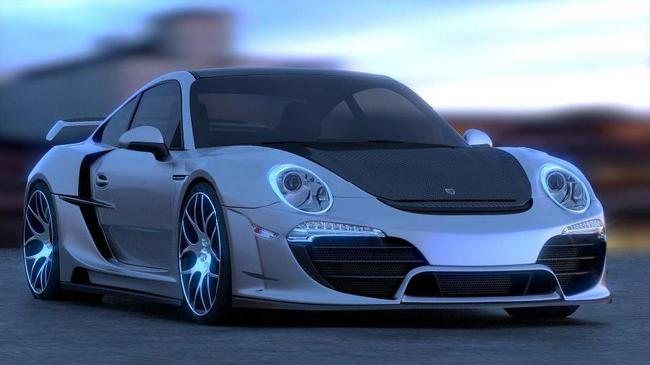 карбоновый обвес Porsche 911 Attack