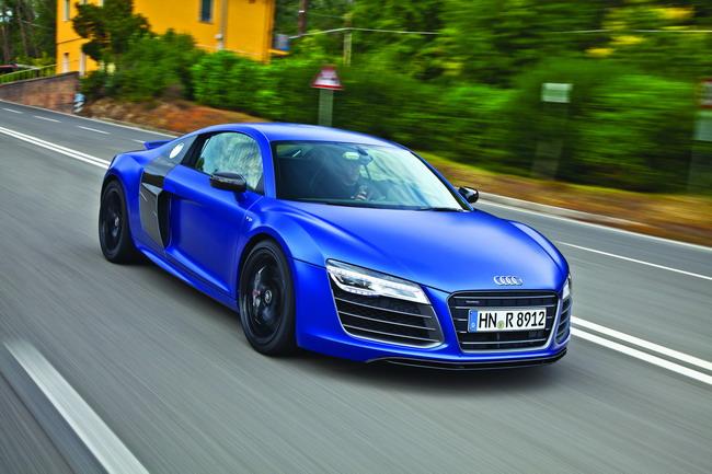 Тест-драйв Audi R8 V10 plus