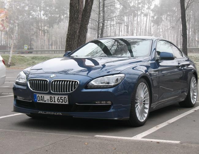 Тест-драйв BMW Alpina