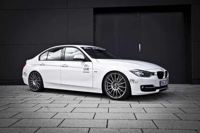 Новая подвеска BMW 3-series