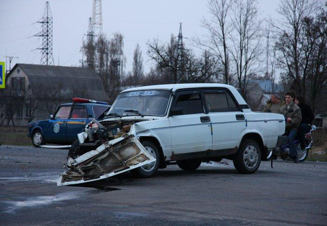 Самые аварийно-опасные районы Донецка