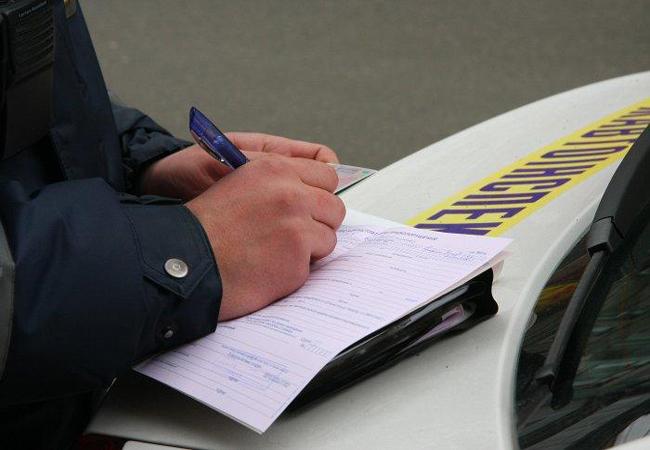 Харьковская ГАИ штраф за непристегнутый ремень безопасности