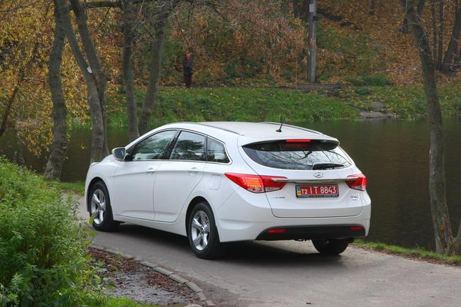 Тест-драйв универсала Hyundai i40 CW