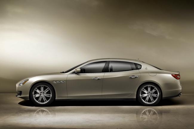 Новый Maserati Quattroporte дебютирует в Детройте