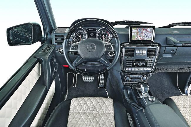 Новый Mercedes G63 AMG с битурбированным V8