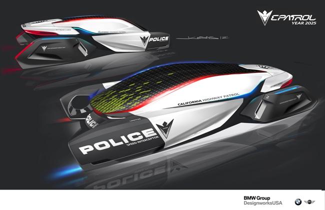 полицейские автомобили будущего от BMW