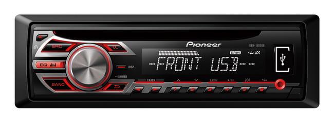 Новый мультиформатный CD-ресивер Pioneer DEH-1500UB