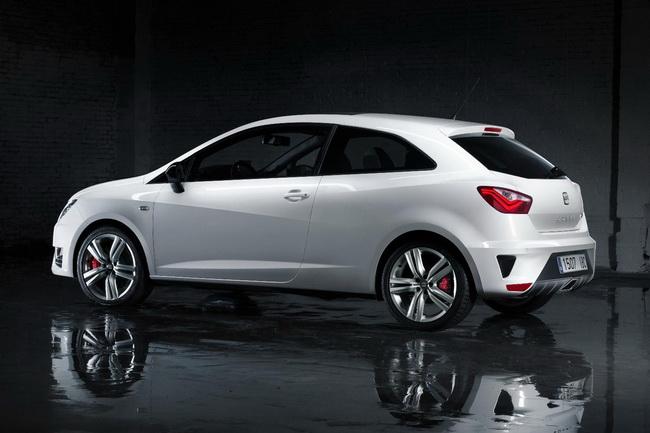 Новый Seat Ibiza обзавелся версией Cupra