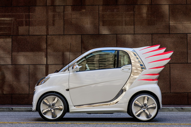 На автошоу в Лос-Анджелесе 2012 Smart обрел крылья