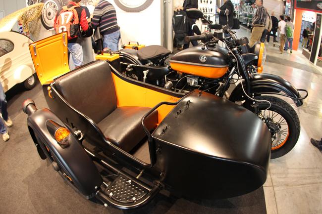 Русские мотоциклы «Урал»