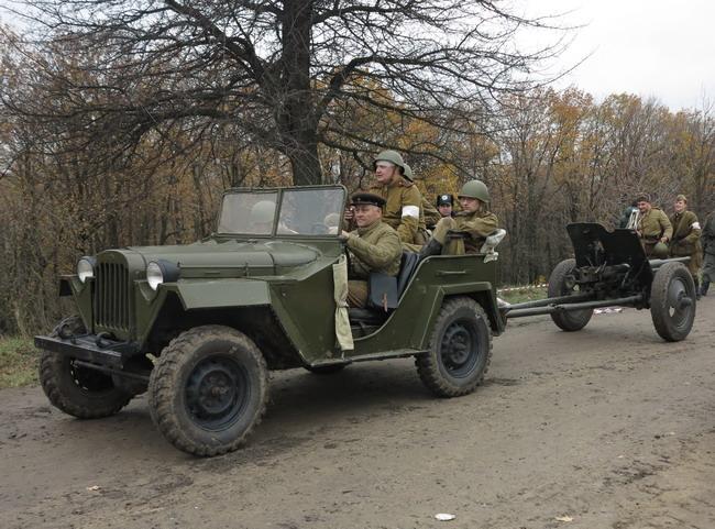 Военно-исторический фестиваль «Даешь Киев»: ГАЗ-67Б