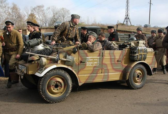Военно-исторический фестиваль «Даешь Киев»: «кюбельваген» Volkswagen 82